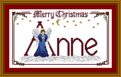 Cristmas Angel Cross Stitch