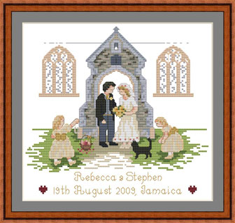 Religious Themed Wedding Sampler